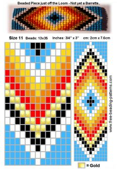 Native American Seed Bead Patterns | beading