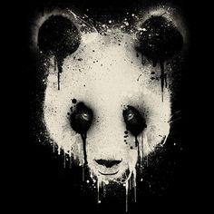 Awesome panda logo