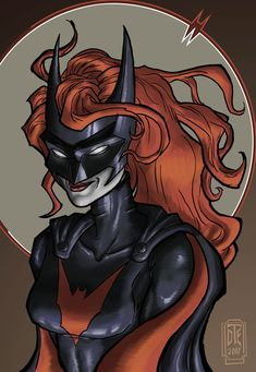 2017 Batwoman Portrait 1 by David Thomas Engquist by chyminy.deviantart.com on @DeviantArt