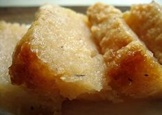 A Bajan Tour Girl Exploring Barbados: Cassava Pone A Bajan Treat