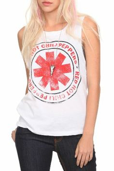 Red Hot Chili Peppers Logo Tank Top.