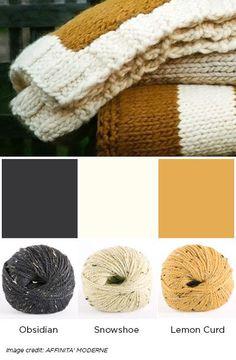 City Tweed Mustard - Favorite Fall Colors - blog.knitpicks.com/weblog/favorite-fall-colors/