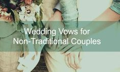 non-religious non-traditional wedding vows #indiewedding #gaywedding www.amplifyhappinessnow.com