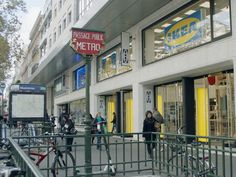 Did you know that IKEA has a smaller, city-centre store in Paris? This central store is part of a new strategy to bring the IKEA brand closer to people. Stores Like Ikea, Paris City, Champs Elysees, Canary Islands, New Market, Public Transport, Where To Go, Centre, Around The Worlds