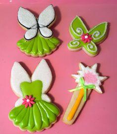 Tinkerbell Cookies..by Elisa Garcia