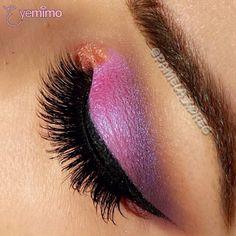 #Eyemakeup inspiration by @pamela_xoreg beautifying her eyes with our #falsie style #GLM13 _________________________________  ⒮⒣⒪⒫ ⒫⒭⒪⒟⒰⒞⒯⒮ ⒜⒯ www.shopeyemimo.com/falseeyelashes-glm13