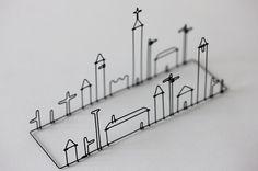 Wire Works by Masao Seki 7