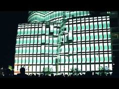 This was an architectural projection mapping piece on the IAC building, New York, that ended the first Vimeo Film Festival + Awards. The projection was made by Seeper.com