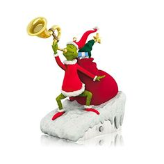Hallmark Keepsake Ornament 2014 - The Grinch's Heart Grew Three Sizes - Dr. Seuss's How The Grinch Stole Christmas! - http://www.christmasshack.com/christmas-ornaments/hallmark-keepsake-ornament-2014-the-grinchs-heart-grew-three-sizes-dr-seusss-how-the-grinch-stole-christmas/