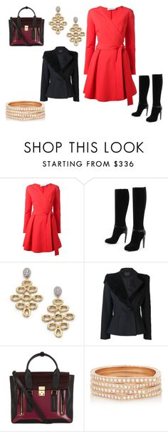 """Untitled #24239"" by edasn12 ❤ liked on Polyvore featuring Tanya Taylor, COSTUME NATIONAL, Marco Bicego, Nonoo, 3.1 Phillip Lim and Repossi"