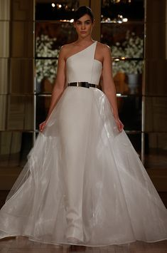 Spring 2015 Wedding Dress Suggestion for modern bride perfect with headpieces from www.MyArtDeco.co