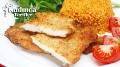 Tavuk Şinitzel Tarifi Iftar, French Toast, Chicken Recipes, Pasta, Dinner Recipes, Mexican, Lunch, Breakfast, Ethnic Recipes