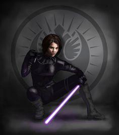 Sword of the Jedi WIP by =SvenjaLiv on deviantART