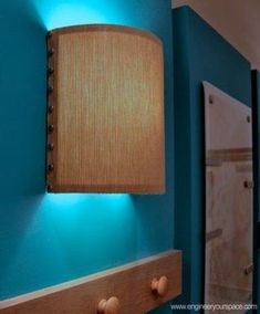 How to Make a Wall Lamp (sconce): 6 Steps (with Pictures)