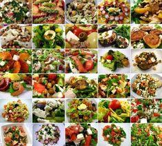 31 receitas de saladas divinais para um mês de Julho purificador. Está tudo neste post do blogue Cinco Quartos de Laranja.