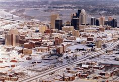 View of Louisville after the 1994 snow. Mount Washington, Winter Storm, Top Travel Destinations, Presidents Day, Great Memories, Global Warming, Kentucky Derby, Old Pictures, Looking Back