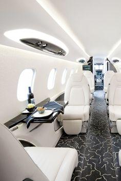 Make enough money to own a killer privet jet