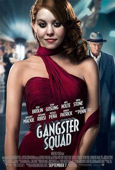 Fotomontaje para Tipografía y grafismo digital ,de la película Gangster Squad.