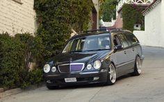 Mercedes Benz W210 Wagon on OZ Mito Wheels 03