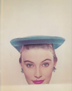 Picture by Erwin Blumenfeld for Vogue, 1951