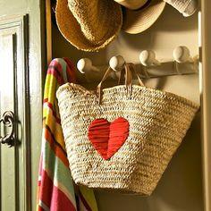 Hanging Heart basket