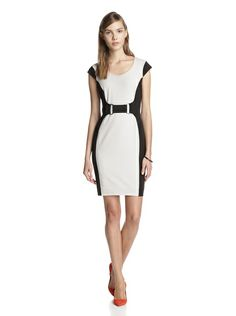 Marc New York Women's Colorblock Dress with Faux Belt  http://fashionndesign.com/women/the-new-9-5-day-dresses