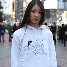 ロボットの恋 パーカー ざきよしちゃん Hoodies, Sweatshirts, Graphic Sweatshirt, Sweaters, Fashion, Moda, Pullover, Parka, Sweater