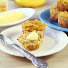 Banana Coconut Flour Muffins