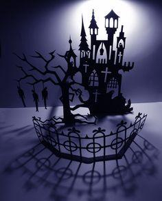 spooky castle cut out - Grimm's Fairy Tales