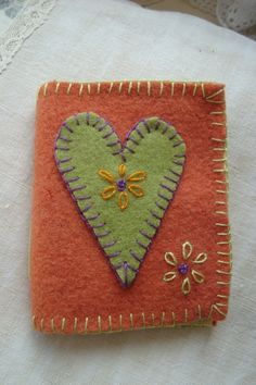 Wool applique Needlekeep Kit by theenglishromantic on Etsy