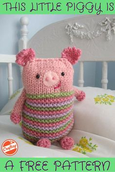Do you have a Knook? Then this FREE little piggy pattern is for you!