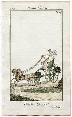 Green phaeton. 1809.