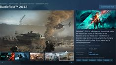 All you STEAM gamers out there will be happy to hear that EA have put Battlefield 2042 On Steam! Yes EA and Valve have finished spitting there dummies out and made friends again for now.. Battlefield Games, Player Card, First Person Shooter, Epic Art, All Games, Warfare, Ea, Book Art, The Help