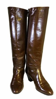 Bally women s made in Italy brown leather knee high boots round toe E Sz 6.5 B  | eBay