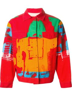 Stephen Sprouse Vintage 'andy Warhol' Printed Jacket - House Of Liza - Farfetch.com