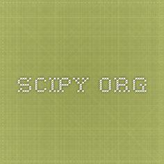 SciPy.org