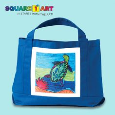 Give a tote-ally awesome gift personalized with your child's artwork.