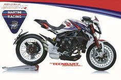 MV Agusta Brutale Dragster 800 RR/S Martini Racing by Tecnoa