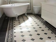 VICTORIAN TILE PATTERNS | Cement floor tile: victorian look B245 - C245 MiraColour