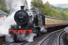 THE SIDING || 53809 - Class 7F 2-8-0 at the North Yorkshire Moors Railway 2-Oct-2009