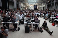 The iPhone users at LeWeb
