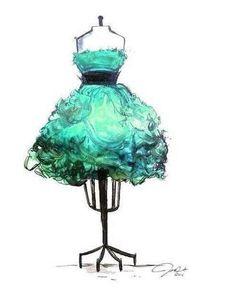 Мохнатое платье.