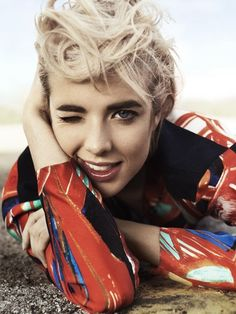 Agyness Deyn photographed by Scott Trindle for I-D Magazine (via imageamplified.com)