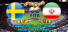 Prediksi Swedia vs Iran 1 April 2015