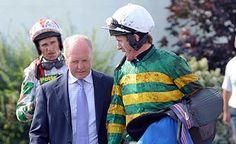 Tony McCoy with trainer JONJO O'NEILL
