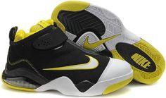 41b363d40193 Nike Zoom Flight Club Tony Parker Shoes White Black Yellow Sport