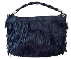 Furla *new* Fringe Convertible Black Satchel. Save 30% on the Furla *new* Fringe Convertible Black Satchel! This satchel is a top 10 member favorite on Tradesy. See how much you can save