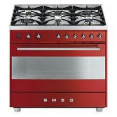 Smeg Dual Fuel Upright Cooker at The Good Guys Stove Oven, Electric Cooker, Gas And Electric, Renzo Piano, Foyers, Open Plan Kitchen, New Kitchen, Mario Bellini, Accessories
