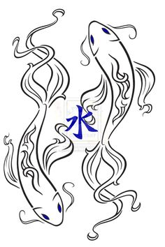 Koi... would be great as a tattoo