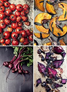 Katie Quinn shows us how food photography should be styled via @thedesignfiles.net The tomatoes look so delizioso!